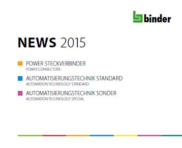 Franz Binder 2015 Yeni Ürün Kataloğu