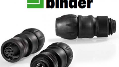 Franz Binder' den Yeni Kablo Tutucusuna Sahip RD24 Serisi Konnektörler