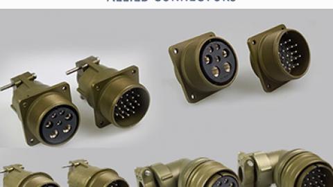 Allied MS Serisi Askeri Konnektörler