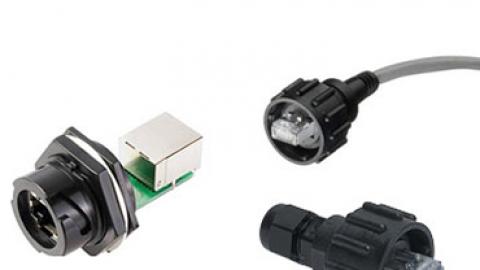 Molex: Su Geçirmez RJ45 Endüstriyel Ethernet Konnektörleri
