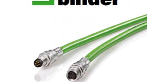 Franz Binder' den Yeni M8 Ethernet Kablolu Panel Montaj Konnektör Serisi