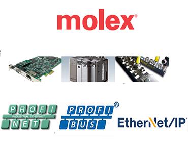 Molex PROFINET Ürünleri, Molex PROFIBUS Ürünleri, Molex EtherNet/IP, Ürünleri, Molex Endüstiryel İletişim Ürünleri, Molex Endüstriyel Haberleşme Ürünleri