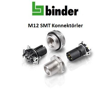 SMT Konnektörler, M12 SMT Konnektörler, SMT Tip Soketler, PCB Yüzey Montaj Konnektörler, PCB Montaj Konnektörler