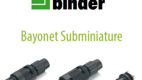 Franz Binder: Bayonet IP40 Konnektör Serisi