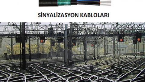 Demiryolu Sinyalizasyon Kabloları