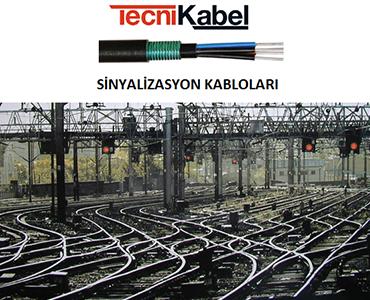 Sinyalizasyon Kabloları, Demiryolu Kabloları, Raylı Sistem Kabloları, Tren Kabloları, Tramvay Kabloları, Metro Hattı Kabloları