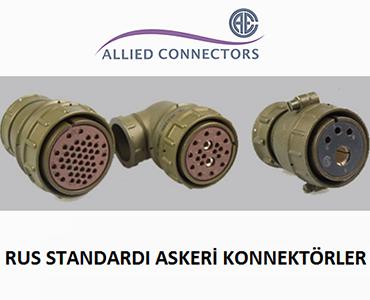 Rus Standardı Askeri Konnektörler, Rus Konnektörleri, Rus Askeri Tip Konnektörler, Rus Standardı Konnektörler, Metrik Askeri Konnektörler