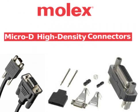 MOLEX: Micro-D Konnektörler