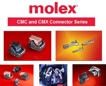 CMC Konnektör Serisi, CMX Konnektör Serisi, Molex CMC Serisi, Molex CMX Serisi, IP6K9k Su Geçirmez Konnektörler