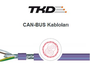 CAN-BUS Kabloları, CANBUS Kabloları, CAN Kabloları, BUS Kabloları, PUR CAN-BUS Kabloları, PVC CAN-BUS Kabloları