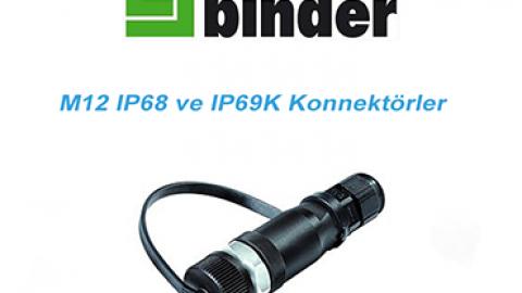Franz Binder: M12 IP68 ve IP69K Konnektörler