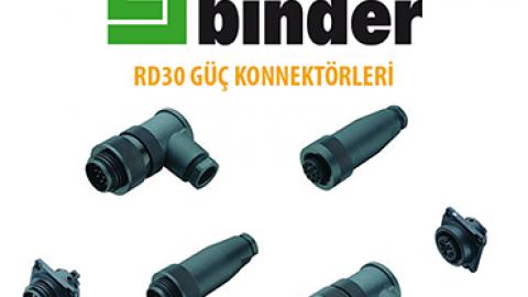 Franz Binder:  RD30 Güç Konnektörleri