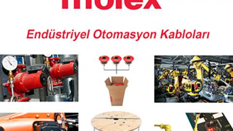 Molex: Endüstriyel Otomasyon Kabloları