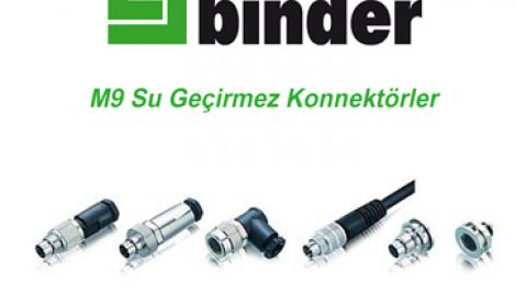 Franz Binder:  M9 Su Geçirmez Konnektörler