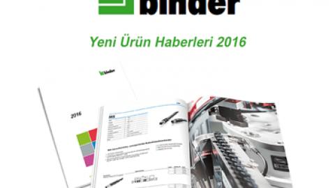 Franz Binder: Yeni Ürün Haberleri 2016