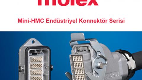 Mini-HMC Endüstriyel Konnektör Serisi