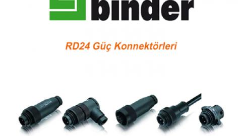 Franz Binder: RD24 Güç Konnektörleri
