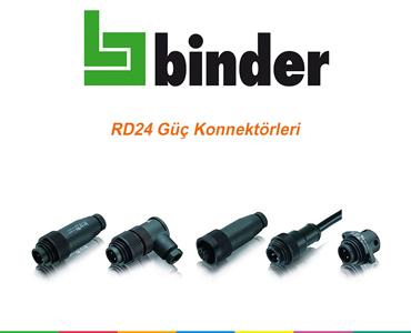 RD24 Güç Konnektörü, Güç Konnektörleri, Su Geçirmez Güç Konnektörleri, Power Konnektörleri, IP Korumalı Konnektörler, Franz Binder RD24, Yüksek Akım Konnektörleri, Yüksek Akım Soketi, Güç Soketi