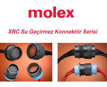 Molex XRC Su Geçirmez Konnektör Serisi, Molex XRC Konnektör Serisi, Molex XRC Konnektörler, Molex XRC Serisi, Molex Dairesel XRC Konnektörler, Araç Uygulamaları İçin Konnektörler, Titreşime Dayanıklı Konnektörler