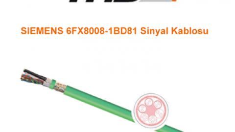 TKD: SIEMENS Standart 6FX8008-1BD81 Sinyal Kablosu