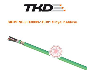 Siemens Standart 6FX8008-1BD81 Sinyal Kablosu, Siemens Servo Motor Kabloları, Siemens Encoder Kablosu, 6FX8008-1BD81 Servo Motor Kablosu, 6FX8008-1BD81 Kablo, Siemens 6FX8008-1BD81, Siemens Hareketli Ortam Servo Motor Kablosu, Siemens Esnek Servo Motor Kablosu