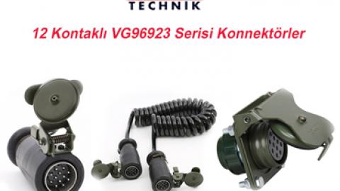 Elke Technik: 12 Kontaklı VG96923 Serisi Konnektörler