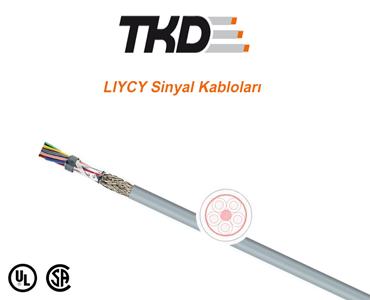 LIYCY Sinyal Kabloları, LIYCY Data Kabloları, UL/CSA Sertifikalı LIYCY Sinyal Kabloları, ELITRONIC Kablolar, LIYCY Kablo Çeşitleri