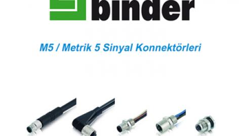 Franz Binder: M5/Metrik 5 Sinyal Konnektörleri