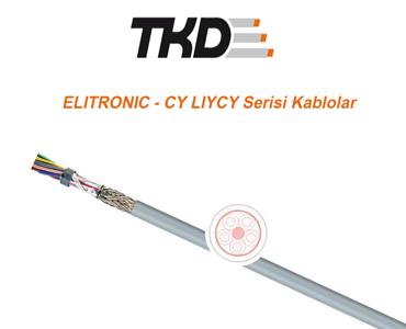 ELITRONIC - CY LIYCY Serisi Kablolar, Elektronik Kabloları, Pano Kabloları, Pano İçi Elektronik Kablolar, Pano İçi Çok Damarlı Kablolar