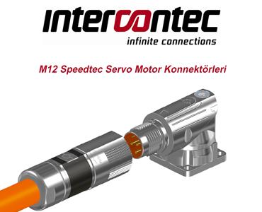 Speedtec Servo Motor Konnektörleri, M12 Speedtec Servo Motor Konnektörleri, Speedtec Konnektörler, Speedtec Soketler