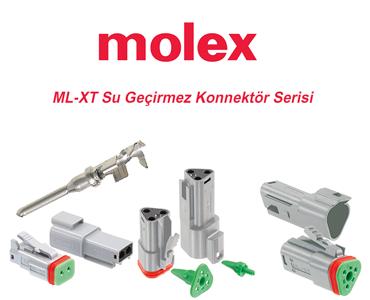 Molex ML-XT Su Geçirmez Konnektörler, IP68 Su Geçirmez Konnektörler, MLXT Konnektör Serisi, ML-XT Konnektör Çeşitleri
