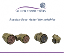 Russian-Spec Askeri Konnektörler