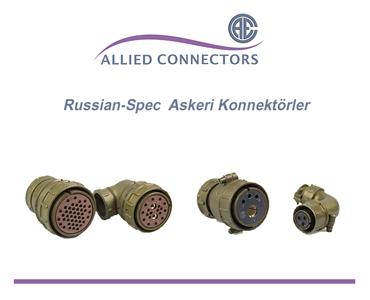 Rusya Askeri Konnektörler, Rus Yapımı Askeri Konnektörler, Rus Standardı Askeri Konnektörler, Rus Konnektörleri, Rus Askeri Tip Konnektörler, Rus Standardı Konnektörler, Metrik Askeri Konnektörler