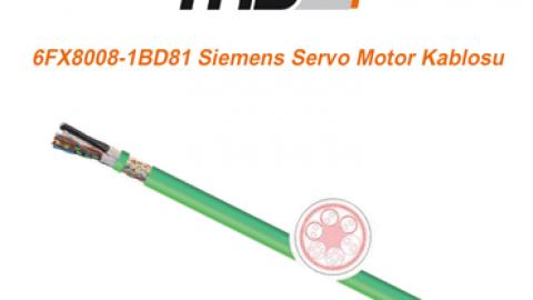 TKD: 6FX8008-1BD81 Siemens Servo Motor Kablosu