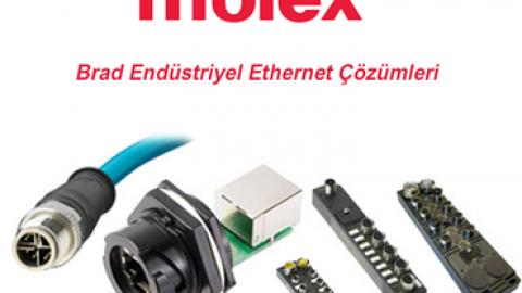 Molex: Brad Endüstriyel Ethernet Çözümleri