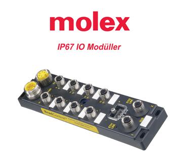 IP67 IO Modüller, Su Geçirmez IO Modüller, Su Geçirmez Giriş Çıkış Modüller, Molex IO Modüller