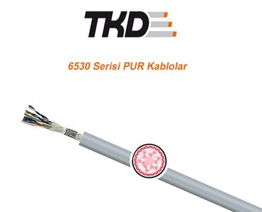 6530 Serisi PUR Kablolar, Esnek Veri Kabloları, Esnek Sinyal Kabloları, Hareketli Ortam Sinyal Kabloları