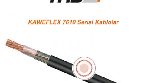 TKD: KAWEFLEX 7610 Serisi Kablolar