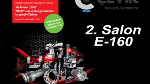 Çevik Kablo & Konnektör WIN EURASIA Automation 2017 Fuarında