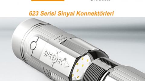 Intercontec: 623 Serisi Sinyal Konnektörleri