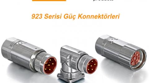 Intercontec:  923 Serisi Güç Konnektörleri