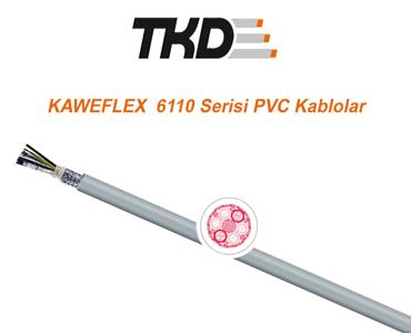 6110 Serisi PVC Kablolar, PVC Kablo Çeşitleri, Kaliteli Hareketli Ortam Kablosu