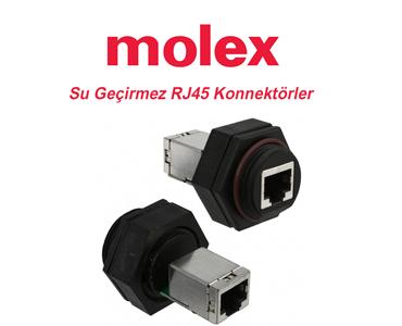 Molex RJ45 Industrial Ethernet Connectors, RJ45 Industrial Ethernet Connectors, IP67 RJ45 Industrial Ethernet Connectors, RJ45 Connectors