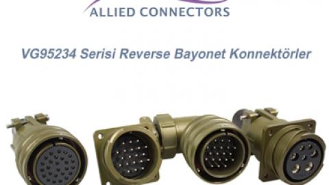 VG95234 Serisi Reverse Bayonet Konnektörler