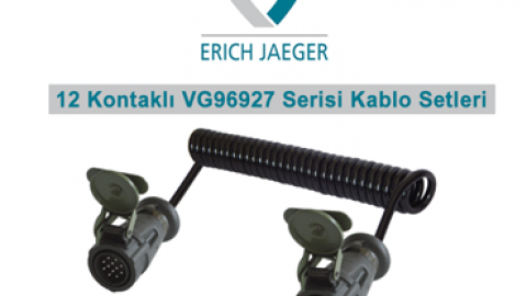 Erich Jaeger: 12 Kontaklı VG96927 Serisi Kablo Setleri