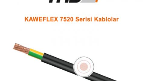 TKD: KAWEFLEX 7520 Serisi Kablolar