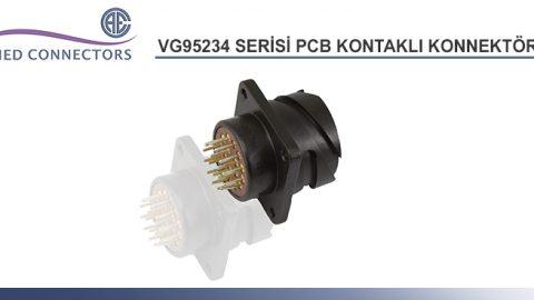 VG95234 Serisi PCB Kontaklı Konnektörler