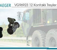 VG96923 12 Kontaklı Treyler Konnektörleri