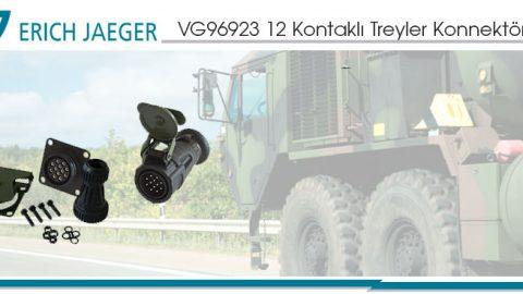 Erich Jaeger: VG96923 12 Kontaklı Treyler Konnektörleri