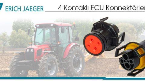 Erich Jaeger: 4 Kontaklı ECU Konnektörler